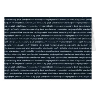 paper-spec NAVYBLUE TYPOGRAPHY MOTIVATIONAL SAYING Card