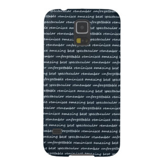 paper-spec NAVYBLUE TYPOGRAPHY MOTIVATIONAL SAYING Galaxy S5 Cover