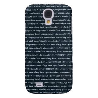 paper-spec NAVYBLUE TYPOGRAPHY MOTIVATIONAL SAYING Galaxy S4 Cover