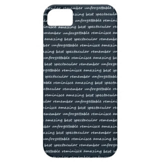 paper-spec NAVYBLUE TYPOGRAPHY MOTIVATIONAL SAYING iPhone 5 Covers