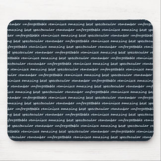 paper-spec NAVYBLUE TYPOGRAPHY MOTIVATIONAL SAYING Mouse Pad