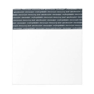 paper-spec NAVYBLUE TYPOGRAPHY MOTIVATIONAL SAYING Note Pads