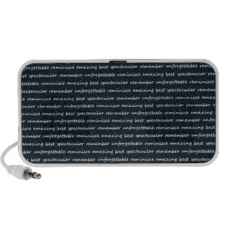 paper-spec NAVYBLUE TYPOGRAPHY MOTIVATIONAL SAYING Notebook Speakers
