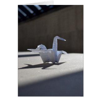 Paper Swan Card