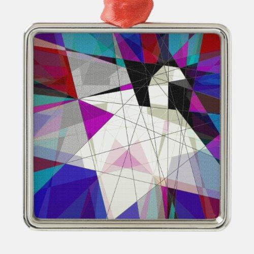 Paper Swan Metal Ornament