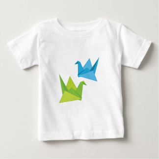 Paper Swans Baby T-Shirt