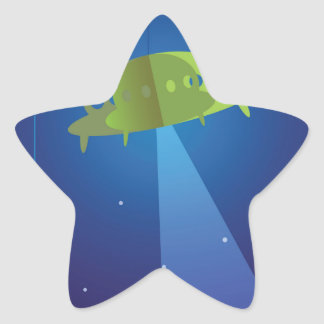 Paper theater - UFO Star Sticker