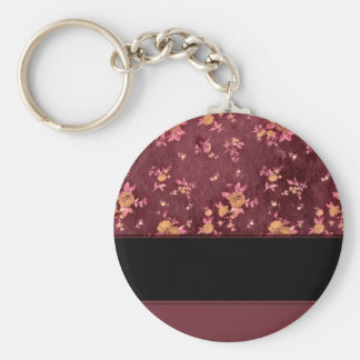 Paper to paper of Bordeaux Keychain