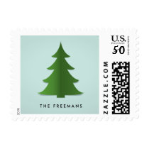 Paper Tree Holiday Stamp