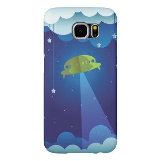 Paper UFO Samsung Galaxy S6 Case