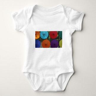 paper umblella baby bodysuit
