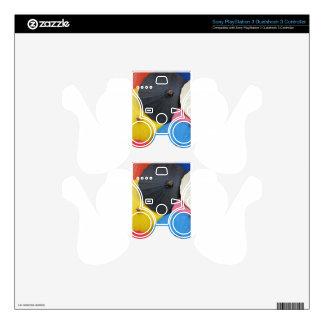 paper umblella PS3 controller decal