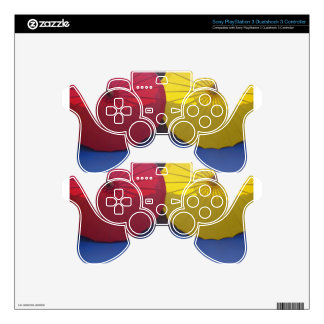 paper umblella skin for PS3 controller