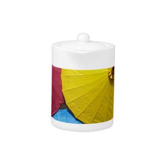 paper umblella teapot