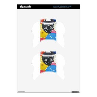 paper umblella xbox 360 controller decal