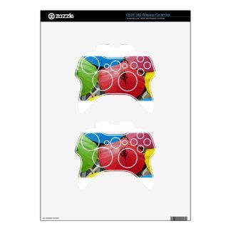 paper umblella xbox 360 controller skin