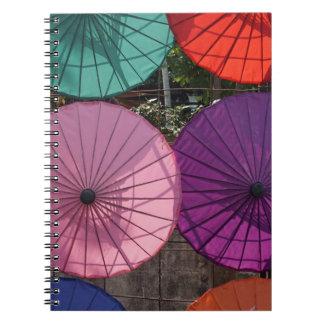 paper umbrella notebook