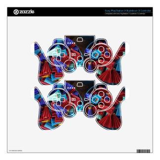 paper umbrella PS3 controller decals