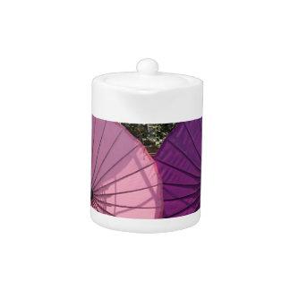 paper umbrella teapot