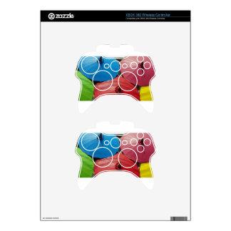 paper umbrella xbox 360 controller decal