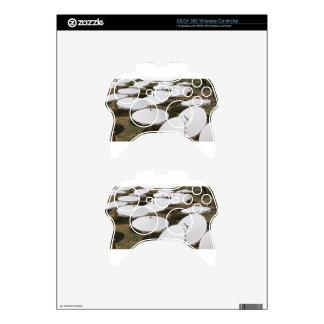 paper umbrella xbox 360 controller skin