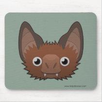 Paper Vampire Bat Basic Mousepad