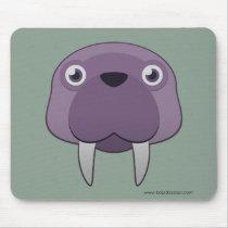 Paper Walrus Basic Mousepad