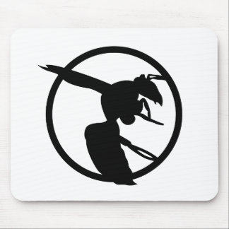 Paper Wasp Logo Mousepad