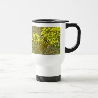 Paper Wasp on Goldenrod Items Travel Mug