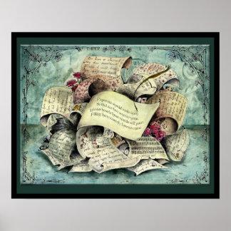 Paper Wedding Anniversary : Jupigio-Artwork.com Poster