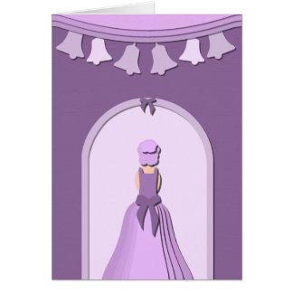 Paper Wedding Bells Greeting Card