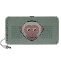 Paper White-Faced Capuchin Doodle Speaker
