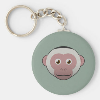 Paper White-Faced Capuchin Keychains