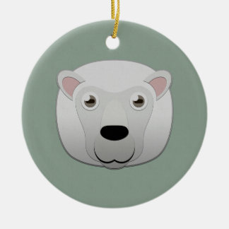 Paper White Sheep Christmas Ornament