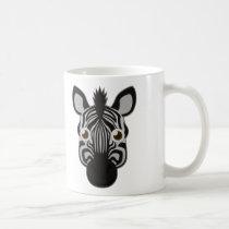 Paper Zebra Mug