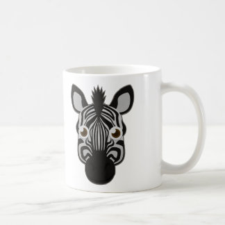 Paper Zebra Coffee Mug