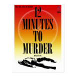 Paperback Postcard: 12 Minutes To Murder