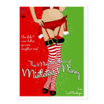 Paperback Postcard: Mistletoe Missy