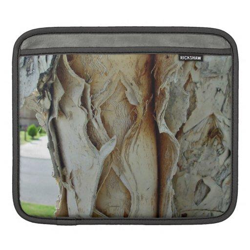 Paperbark tree closeup iPad sleeves