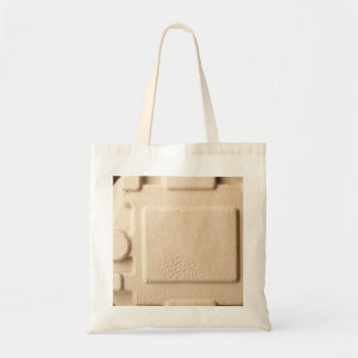 Paperboard mold pattern tote bag