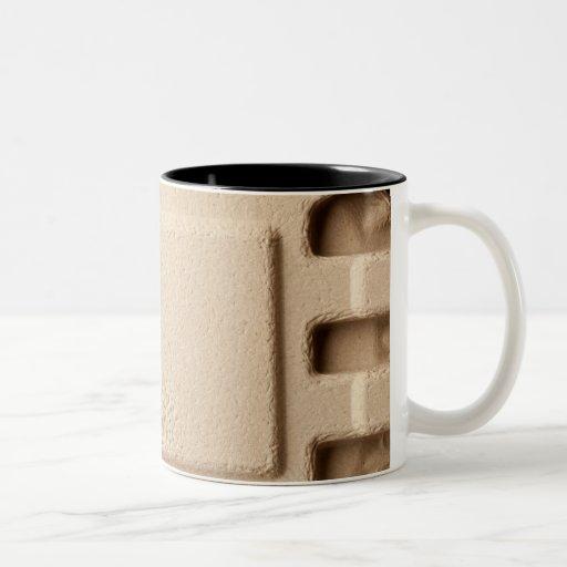 Paperboard mold pattern Two-Tone coffee mug