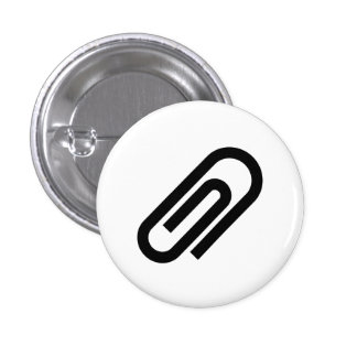 Paperclip Pictogram Button