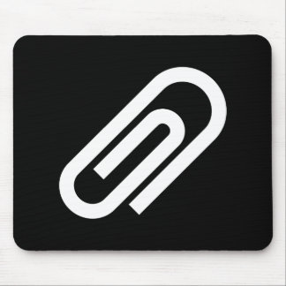 Paperclip Pictogram Mousepad
