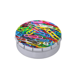 Paperclips Candy Tin