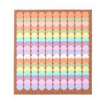Papercraft colorido: Remiendo del punto del sacado Blocs De Papel