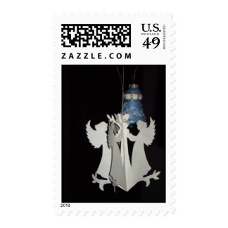Papercut Angels Postage Stamps