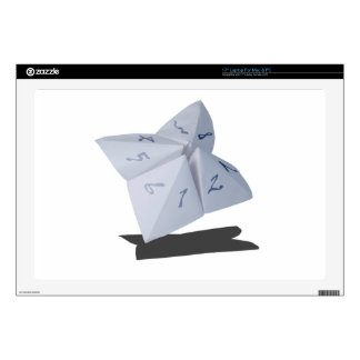 """PaperDecisionMakerWithNumbers052215.png 17"""" Laptop Skin"""