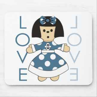 Paperdoll Mouse Pad