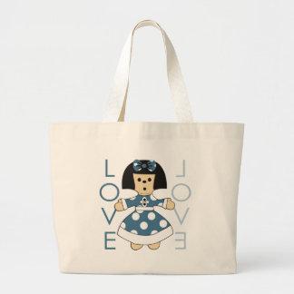 Paperdoll Tote Bag