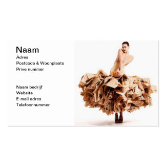Paperdress Double-Sided Standard Business Cards (Pack Of 100)
